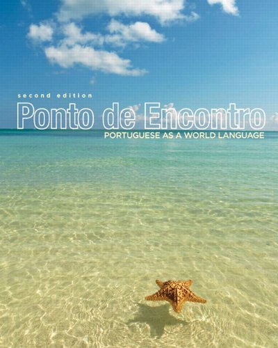 9780205876624: Ponto de Encontro: Portuguese as a World Language Plus MyPortugueseLab with eText multi semester -- Access Card Package (2nd Edition)