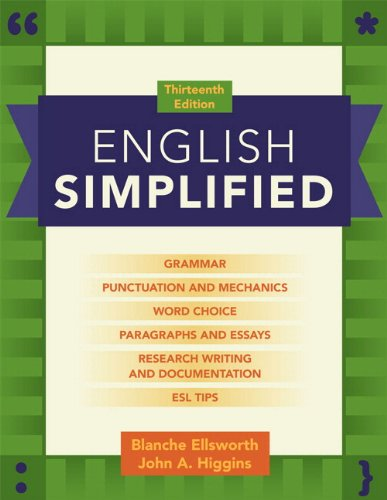 9780205879366: English Simplified (with MyWritingLab with Pearson eText) (13th Edition)