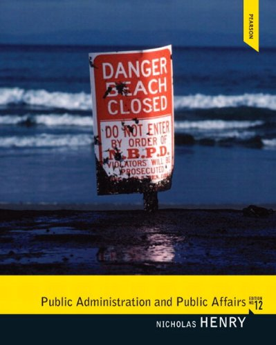 9780205882984: Public Administration and Public Affairs Plus MySearchLab with eText -- Access Card Package (12th Edition)