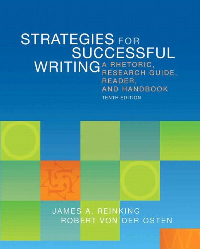 9780205884681: New Mycomplab with Pearson Etext -- Standalone Access Card -- For Strategies for Successful Writing: A Rhetoric, Research Guide, Reader and Handbook