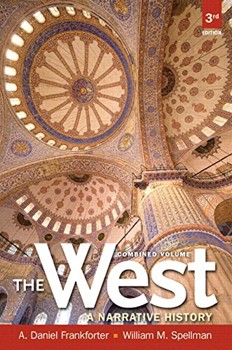 9780205887910: Black and White Edition of The West: A Narrative History, Combined Volume (3rd Edition)