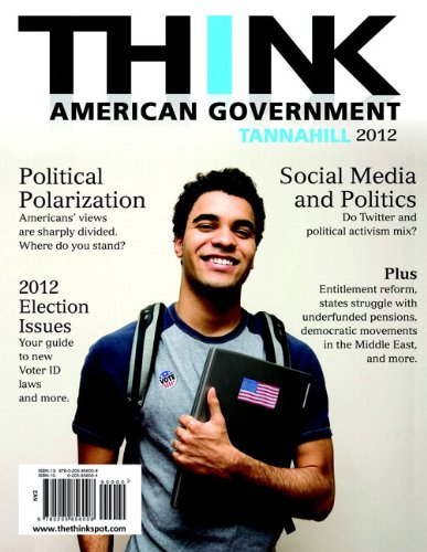 9780205888429: THINK: American Government 2012 Plus MySearchLab with eText -- Access Card Package (4th Edition)