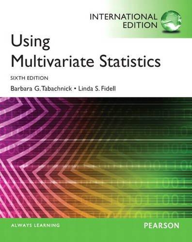 9780205890811: Using Multivariate Statistics