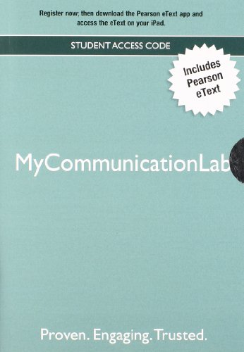 9780205890859: MyCommunicationLab: Student Access Code