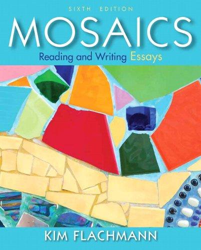 9780205890965: Mosaics: Reading and Writing Essays