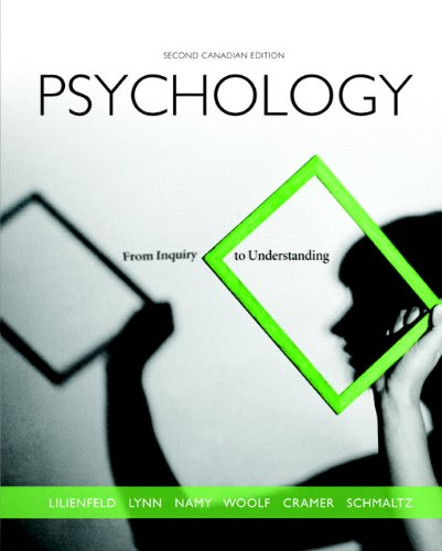 9780205896110: Psychology: From Inquiry to Understanding, Second Canadian Edition with MyPsychLab (2nd Edition)