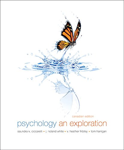 9780205897469: Psychology: An Exploration, First Canadian Edition