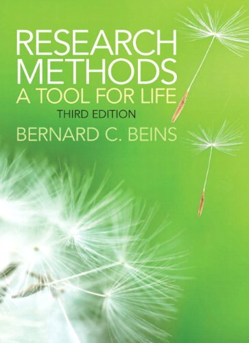 Research Methods: A Tool for Life (3rd Edition): Beins, Bernard C.