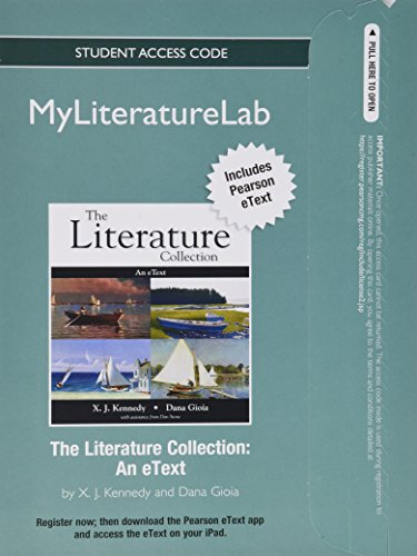 9780205900343: Literature Collection, The with NEW MyLiteratureLab -- Standalone Access Card