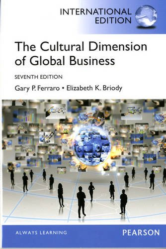 9780205900725: Cultural Dimension of Global Business: International Edition 7ed