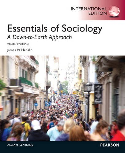 9780205900732: Essentials of Sociology: A Down-To-Earth Approach