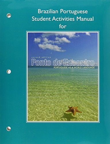 9780205900824: Ponto de Encontro: Portuguese as a World Language, Brazilian Student Activities Manual, and Oxford PORTUGUESE DICTIONARY