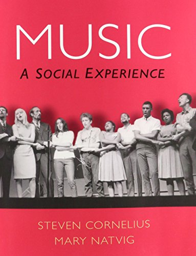 9780205900978: Music: A Social Experience & 4 CD Set for Music: A Social Experience Package
