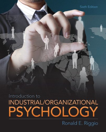 9780205901135: Introduction to Industrial and Organizational Psychology Plus MySearchLab with eText -- Access Card Package (6th Edition)