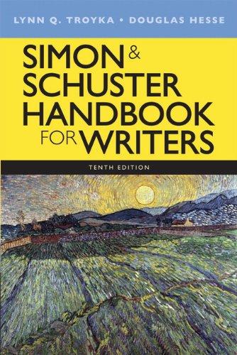 Simon & Schuster Handbook for Writers (10th Edition): Troyka, Lynn Quitman; Hesse, Doug