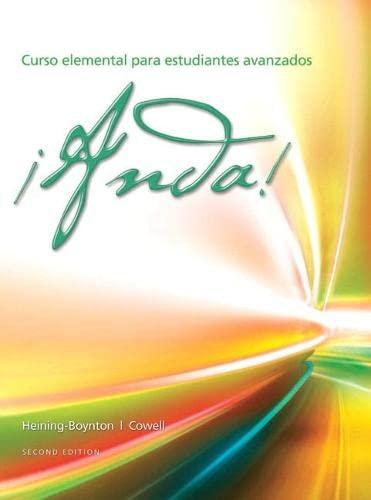 9780205905713: ¡Anda! Curso elemental para estudiantes avanzados (2nd Edition)