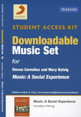 9780205907045: Download Music Card for Music: A Social Experience