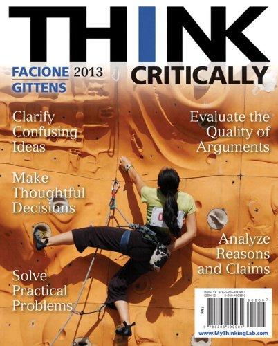 9780205907267: THINK Critically Plus NEW MyThinkingLab -- Access Card Package (2nd Edition) (MyThinkingLab Series)