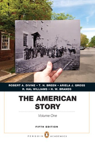 9780205907366: The American Story, Vol. 1, 5th Edition