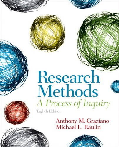 9780205907694: Research Methods: A Process of Inquiry