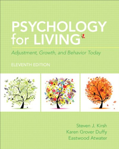 9780205909025: Psychology for Living: Adjustment, Growth, and Behavior Today (11th Edition)