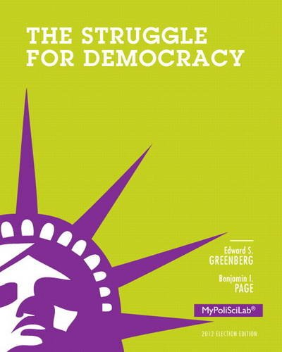 9780205909049: Struggle for Democracy, 2012 Election Edition (11th Edition)