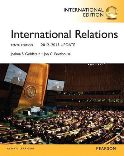 9780205909506: International Relations: 2012-2013 Update