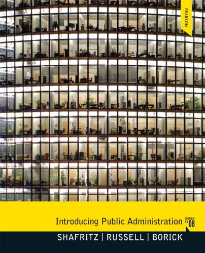 9780205910007: Introducing Public Administration