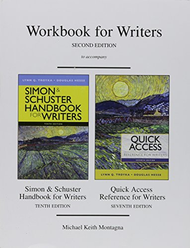 9780205911738: The Simon and Schuster Workbook for Writers