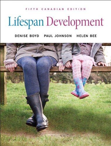 9780205911974: Lifespan Development, Fifth Canadian Edition (5th Edition)