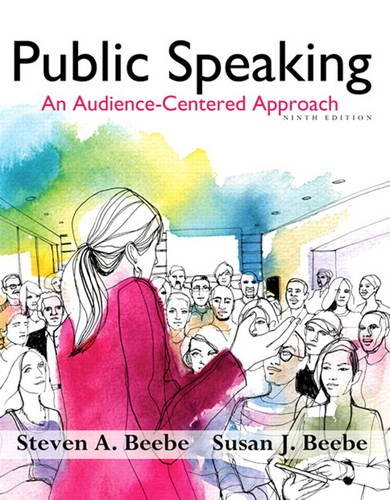 9780205914630: Public Speaking: An Audience-Centered Approach (9th Edition) - Standalone book