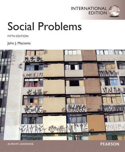 9780205914791: Social Problems: International Edition