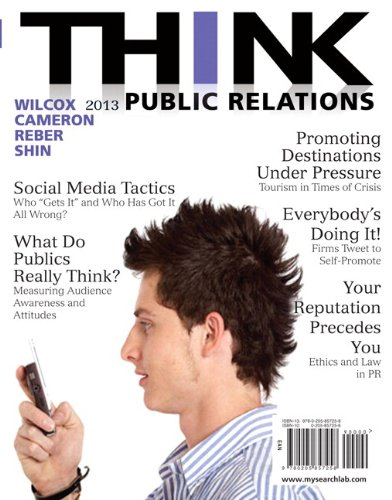 9780205916788: THINK Public Relations Plus MySearchLab with eText -- Access Card Package (2nd Edition)