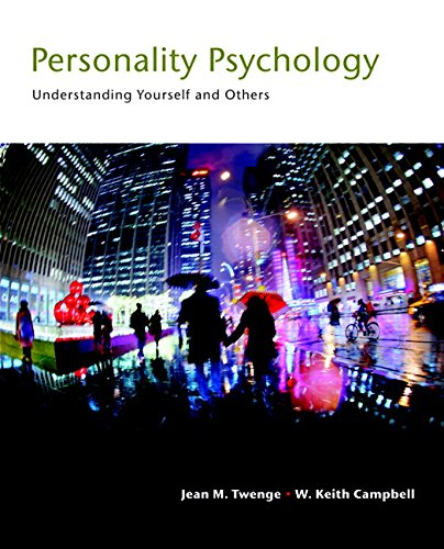 9780205917426: Personality Psychology: Understanding Yourself and Others