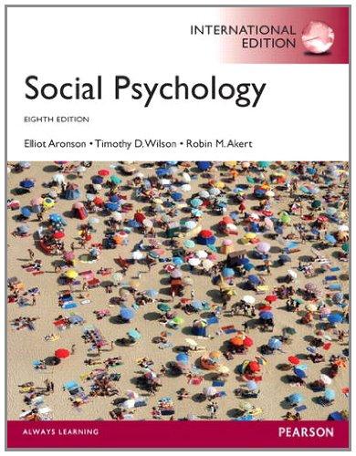 9780205918027: Social Psychology: International Edition