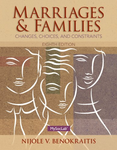 Marriages and Families (Hardcover): Nijole V. Benokraitis