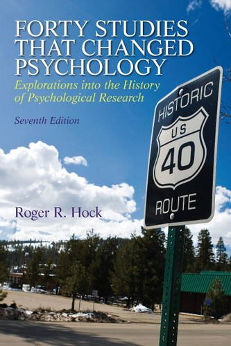 9780205918393: Forty Studies that Changed Psychology