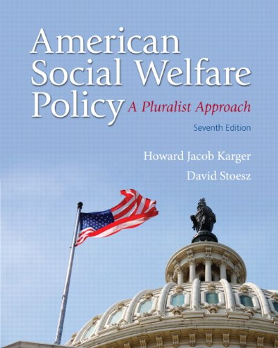 9780205922406: American Social Welfare Policy: A Pluralist Approach Plus MySearchLab with eText -- Access Card Package (7th Edition)