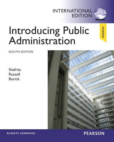 9780205922468: Introducing Public Administration