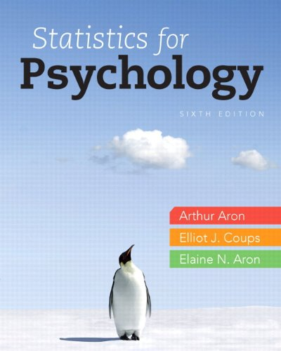 9780205924172: Statistics for Psychology Plus NEW MyLab Statistics with eText -- Access Card Package (6th Edition)
