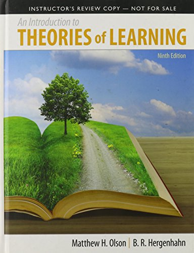 9780205924974: An Introduction to Theories of Learning: Ninth Edition