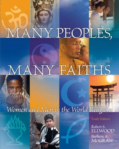 9780205925582: Many Peoples, Many Faiths Plus NEW MyReligionLab with eText -- Access Card Package (10th Edition)