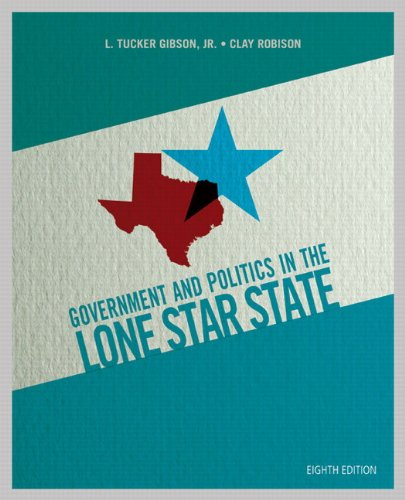 9780205927067: Government and Politics in the Lone Star State (8th Edition)