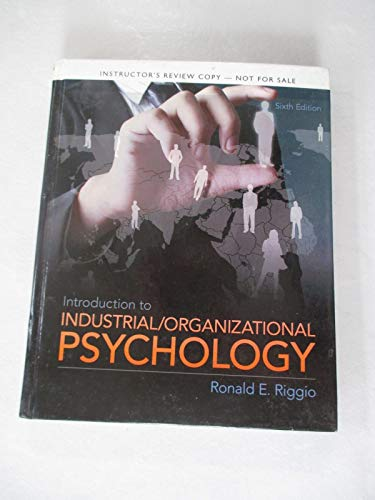 9780205928224: Introduction to Industrial and Organizational Psychology