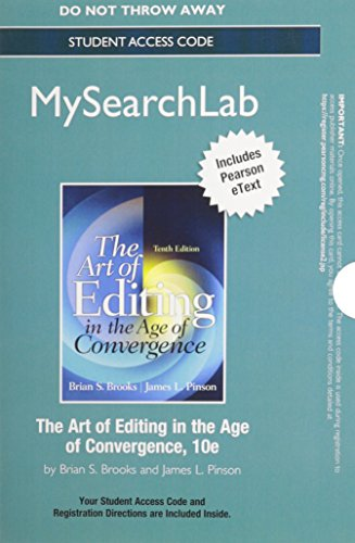 MySearchLab with Pearson eText -- Standalone Access Card -- for The Art of Editing (10th Edition): ...