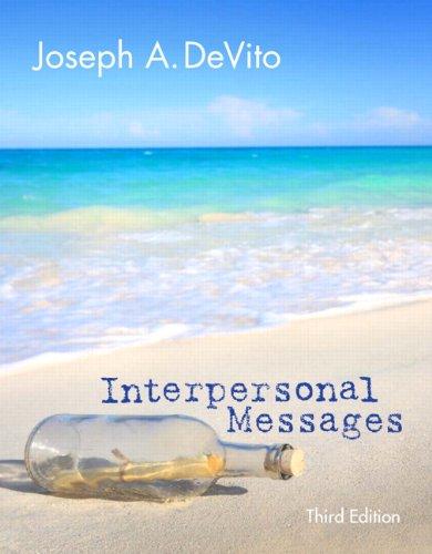 messages by joseph devito pdf