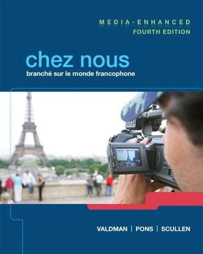 9780205933761: Chez nous: Branché sur le monde francophone, Media-Enhanced Version (4th Edition)