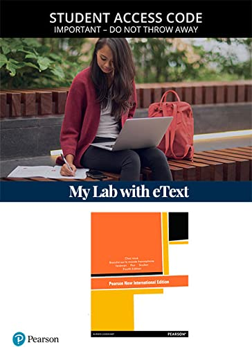 9780205937998: MyFrenchLab with Pearson eText -- Access Card -- for Chez nous: Branché sur le monde francophone, Media-Enhanced Version (multi semester access) (4th Edition)