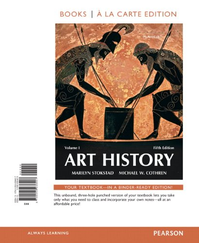 9780205938407: Art History Volume 1, Books a la Carte Edition (5th Edition)
