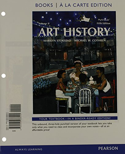9780205938469: Art History Volume 2, Books al a Carte Plus NEW MyArtsLab with eText -- Access Card Package (5th Edition)